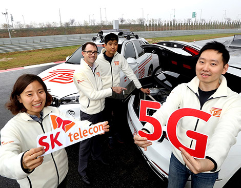 SK Telecom records 3.6 Gbps 5G transmission speed