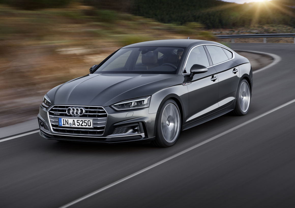 The new Audi A5 introduces new driver assistance s