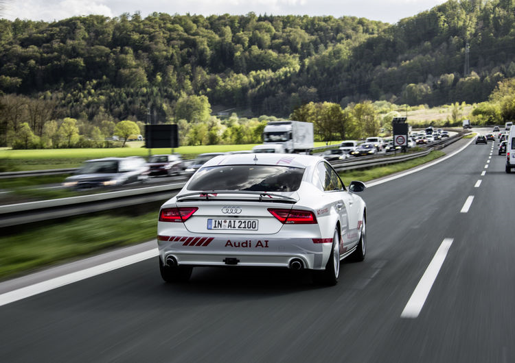 "Audi is participating in ""Digital Motorway Test Be"