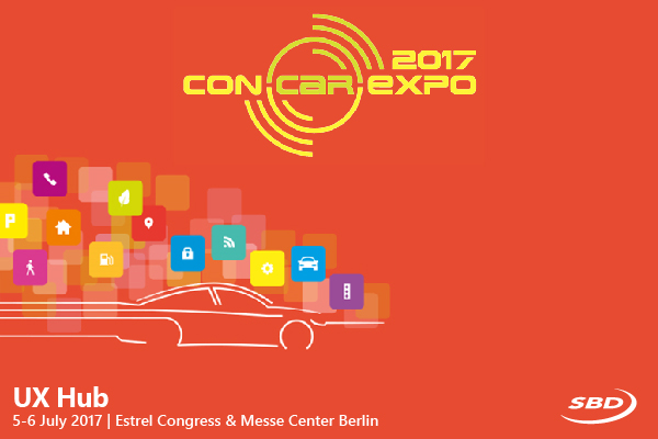 ConCar Expo and SBD Automotive bring usability to