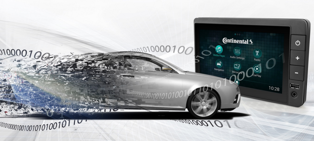 Continental unveils automotive Software Defined Ra
