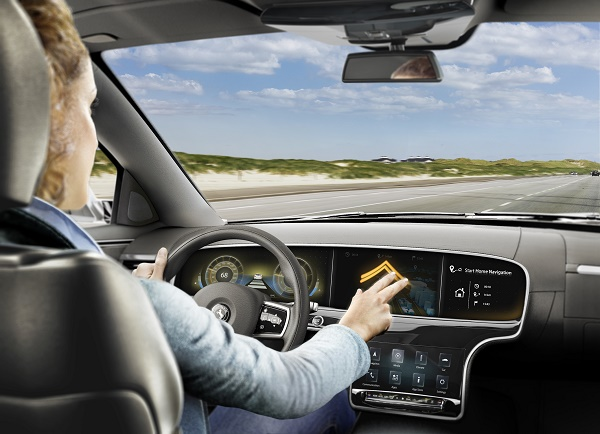 Continental develops 'two-finger' gesture recognit