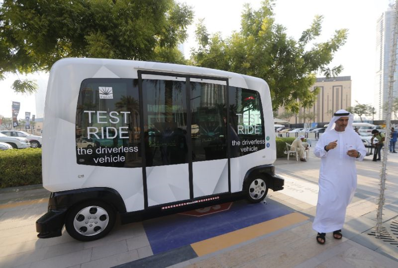 Dubai launches its first driverless mini shuttle