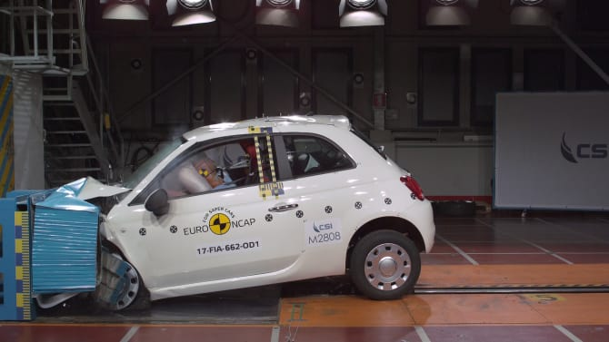 Euro NCAP releases ratings for six new cars
