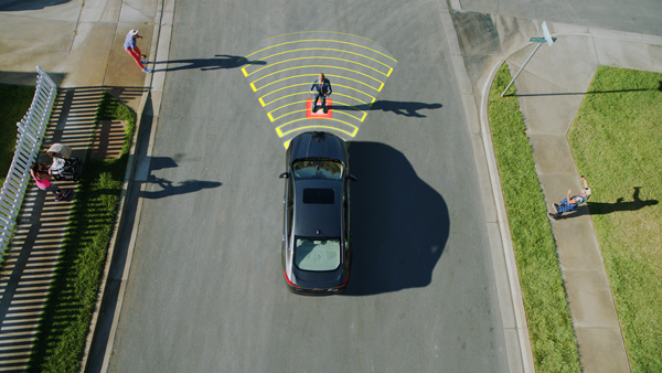 Ford debuts pedestrian detection system thatses fu