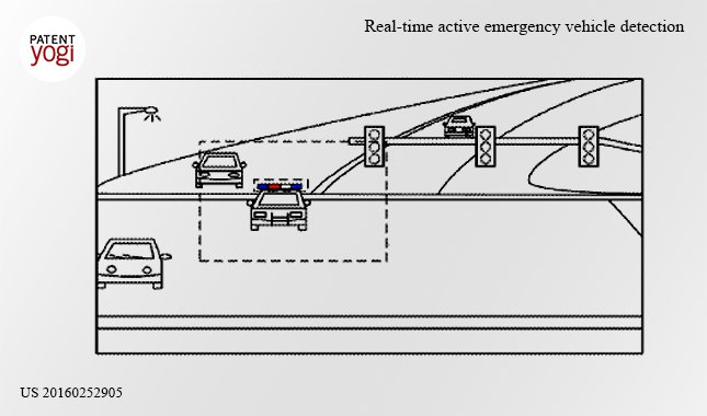 Google autonomous cars detect emergency vehicles w
