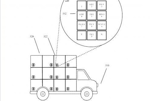 Google wins patent for self-driving delivery truck