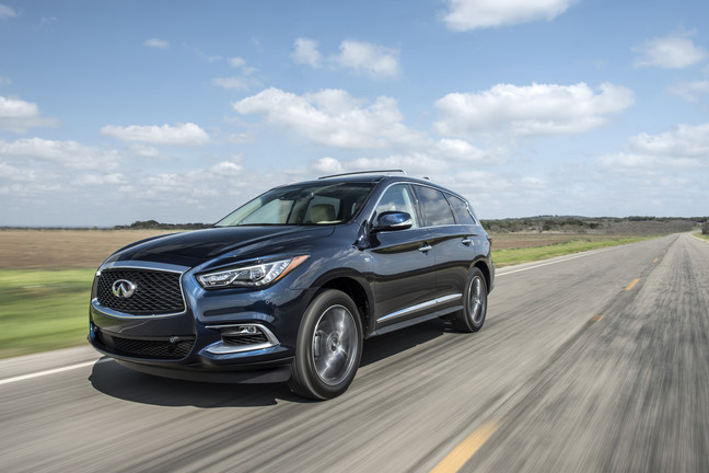 US: Infiniti QX60 receives NHTSA Top Safety Pic