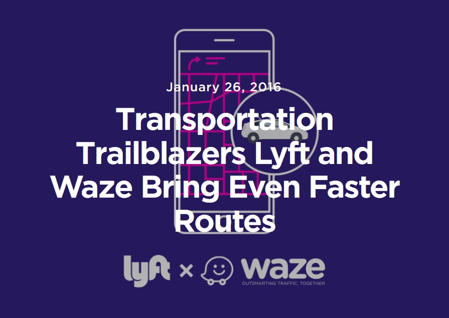 Lyft will integrate Waze into its driver app