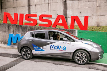 Nissan tests vehicle-to-grid (V2G) concept in Ital