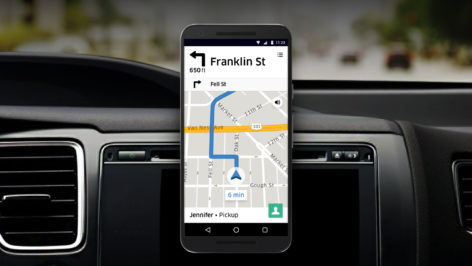 Uber reveals new iOS/Android in-app navigation