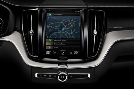 Volvo selects Google to power its Android-based in