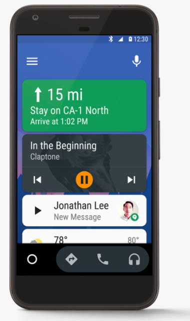 Google rolls out Android Auto to smartphones