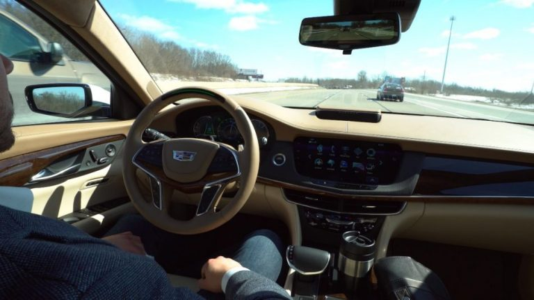 Cadillac Super Cruise™ sets the standard for hands
