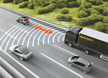 Continental technologies make commercial vehicles
