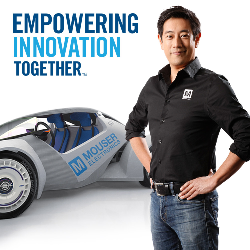 Mouser Electronics 3D-printed autonomous car