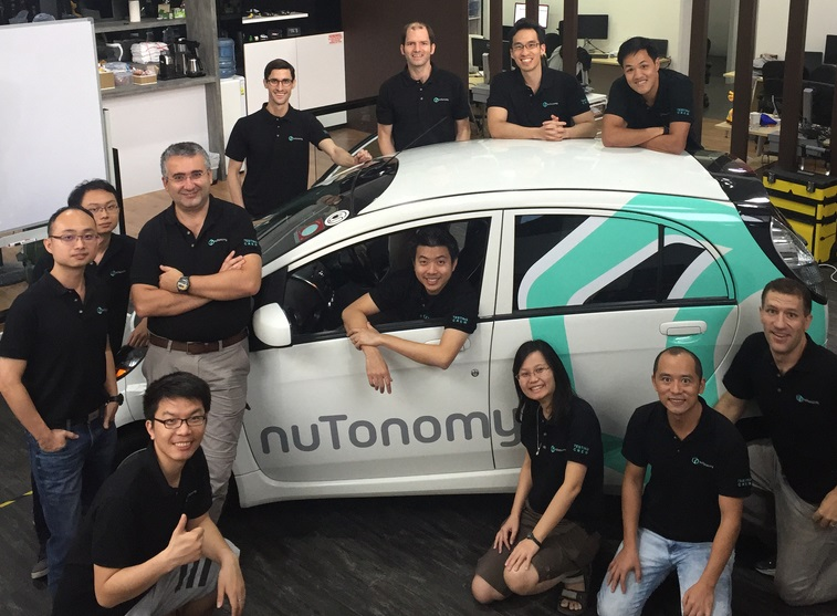 nuTonomy wins funding for autonomous car software