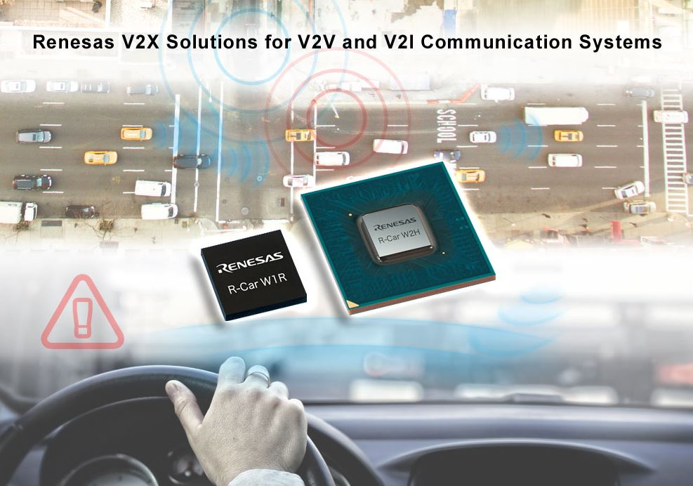 Renesas introduces V2X solutions for autonomous dr