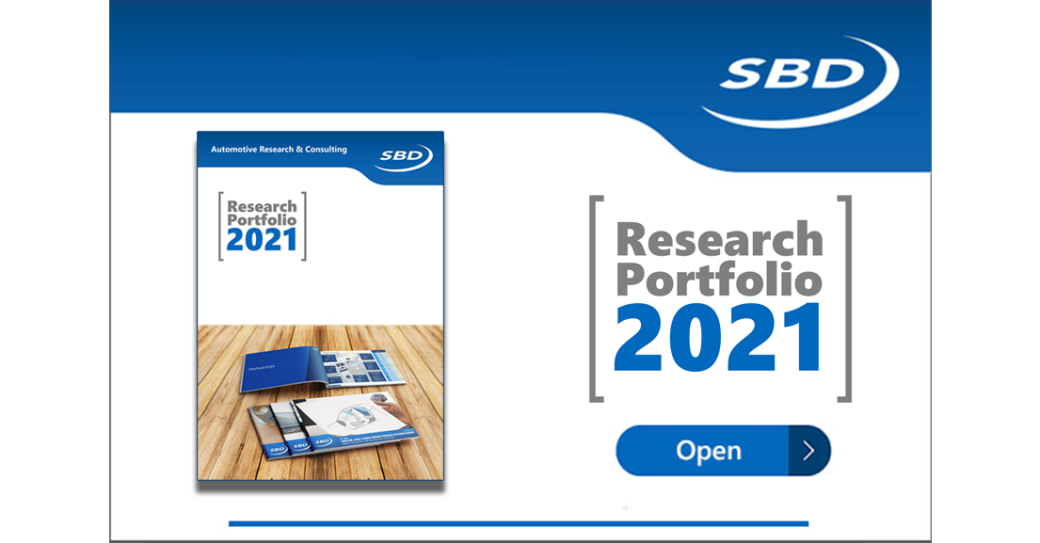 Getting a head start on 2021 - New SBD reports an