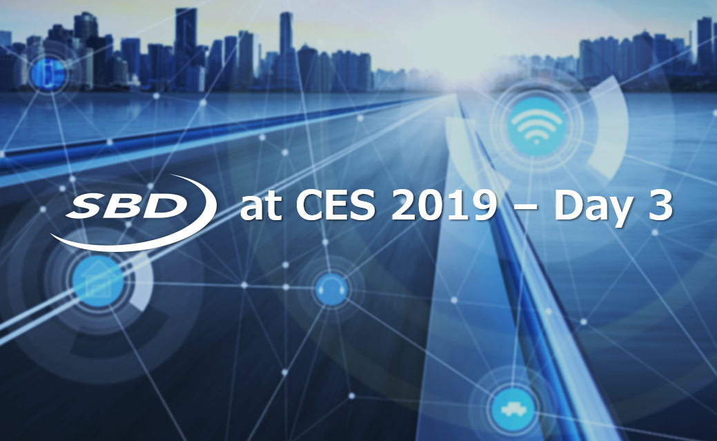 CES 2019 速報 – Day 3
